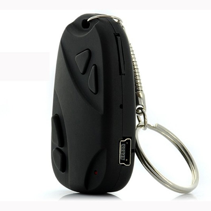 Mini 808 Camcorder Key Chain Car Remote Pinhole Camera Video Recorder