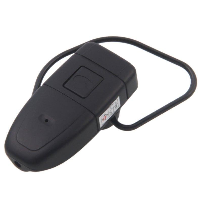4GB HD Bluetooth Earphone Hidden Camera Black TM86TT2468