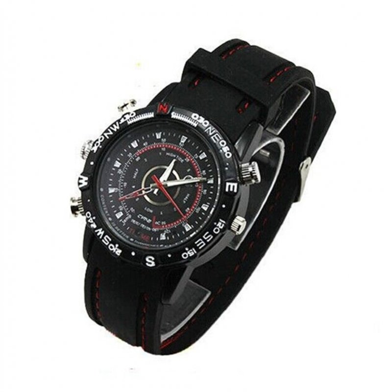 8GB HD Waterproof Camcorder Watch Wrist DV Pinhole Camera Digital Video Recorder Cam TM86TT2284
