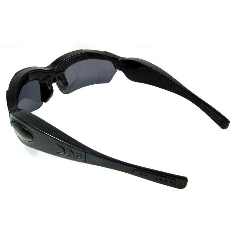 5.0MP CMOS 720P HD Sports Hidden Camera Sunglasses Black