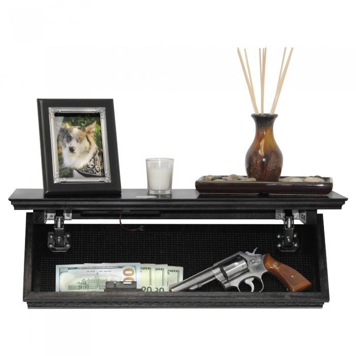 Quick Shelf Safe with RFID- Black
