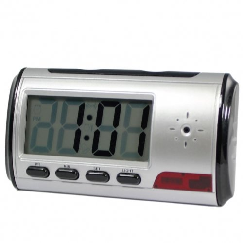 Digital Alarm Clock DVR with motion detector 4GB