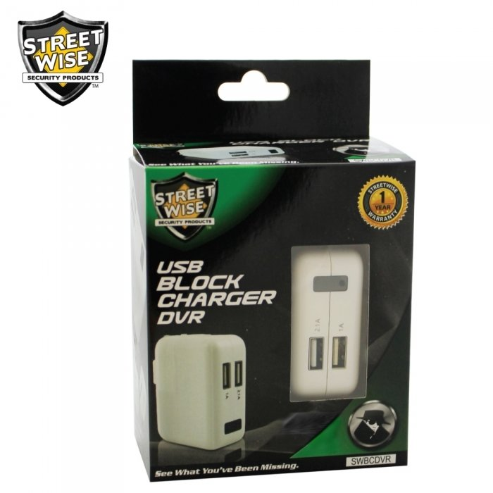 Streetwise Block Charger DVR