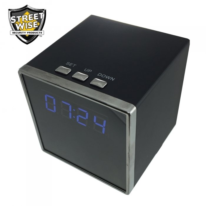 Streetwise Cube Clock DVR Camera CEPSWCCDVR