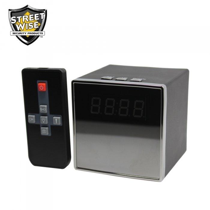 Streetwise Cube Clock DVR Camera