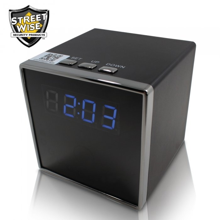 Streetwise Cube Clock WiFi IP Camera
