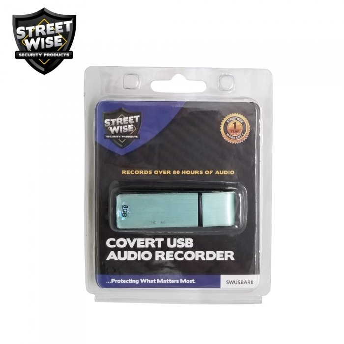 Covert USB Audio Recorder 8GB