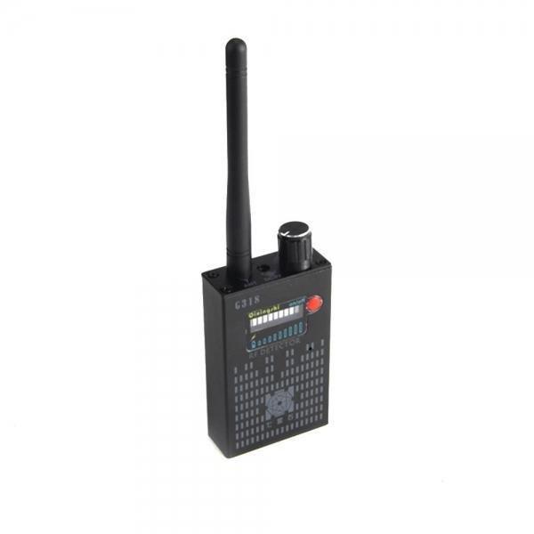 G318 RF Signal Detector CDMA Signal Detector High Sensitivity Detection Hiding Camera Lens / GPS Locator(US plug) TENOZEK86032414