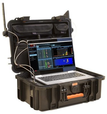Delta X 100/4 Spectrum Analyzer