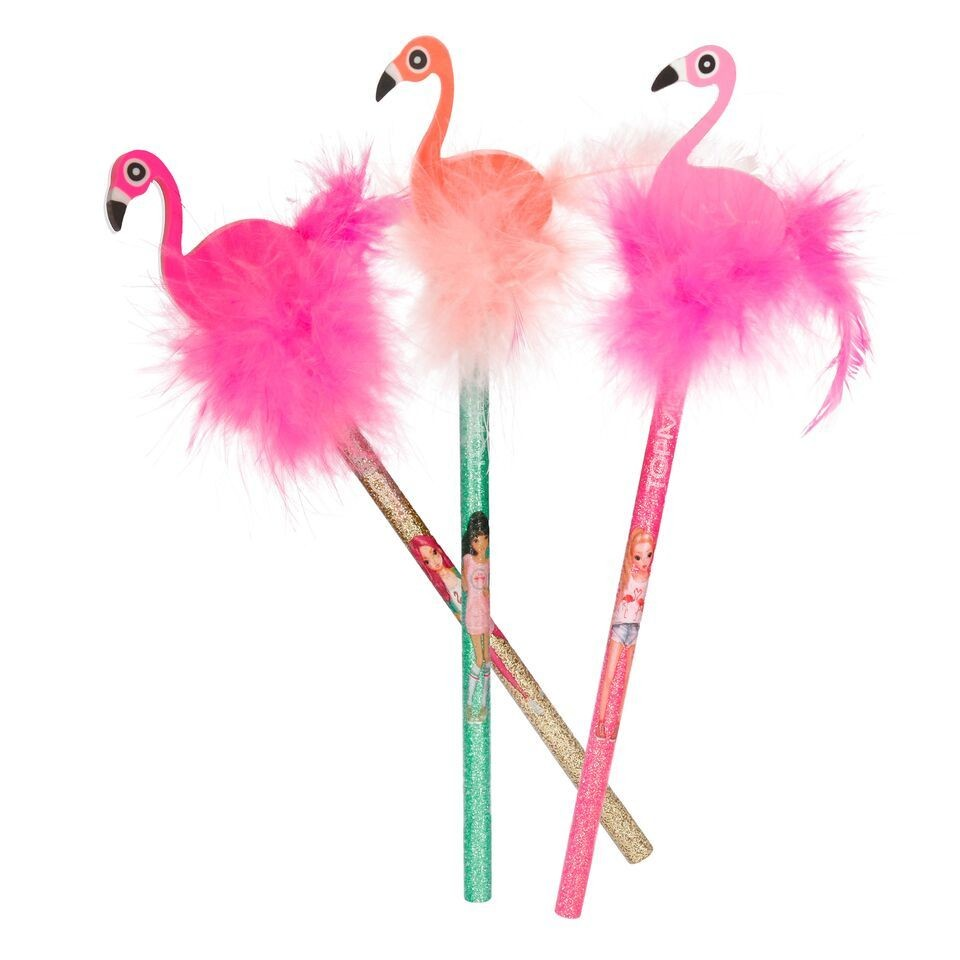 TOPModel Карандаш простой с ластиком Фламинго