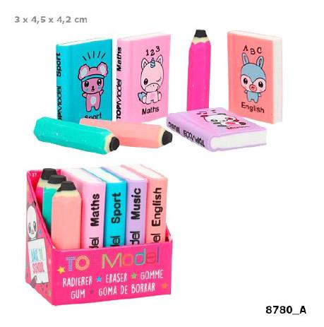 TOPModel Латики в форме книг и карандашей