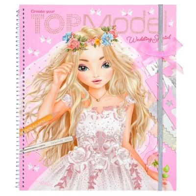 TOPModel Альбом для раскрашивания Свадьба