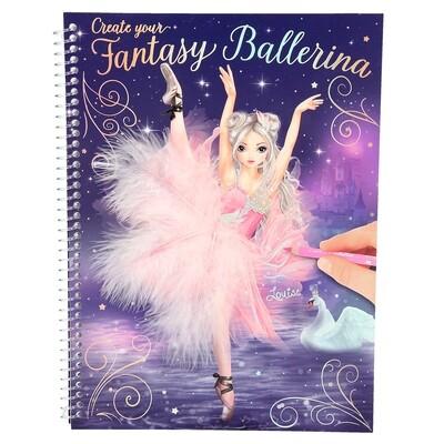 TOPModel Альбом для раскрашивания Балерина