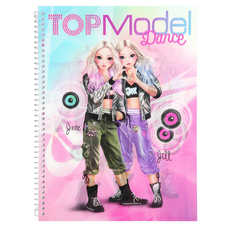 TOPModel Альбом для раскрашивания Танцы