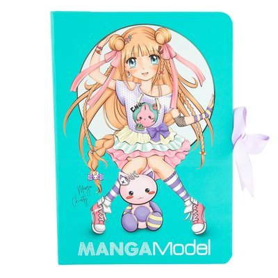 TOPModel MANGA Папка с зажимом и набором для записей