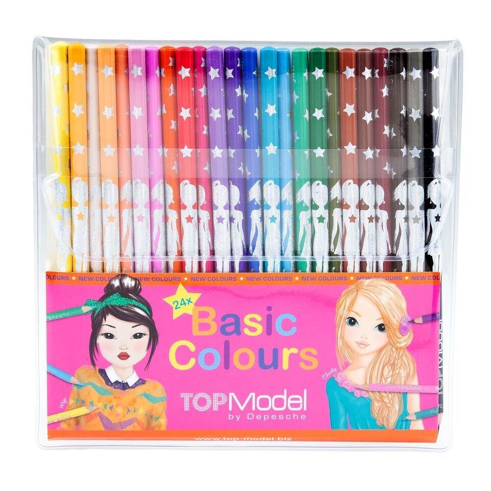 TOPModel Цветные карандаши 24 цвета