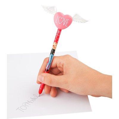 TOPModel Ручка шариковая с крыльями и сердцем (1шт)