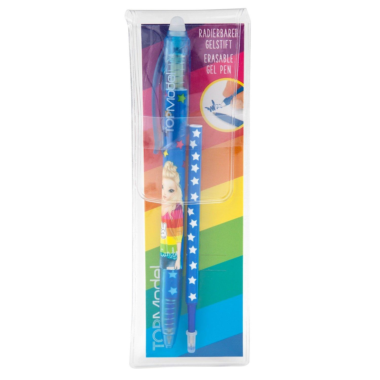TOPModel Ручка гелевая с ластиком (синий дизайн)