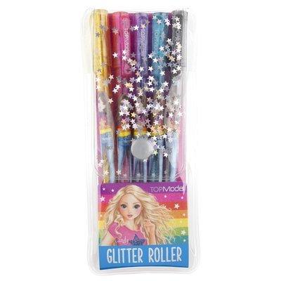 TOPModel Ручки цветные с блестками,гелевые