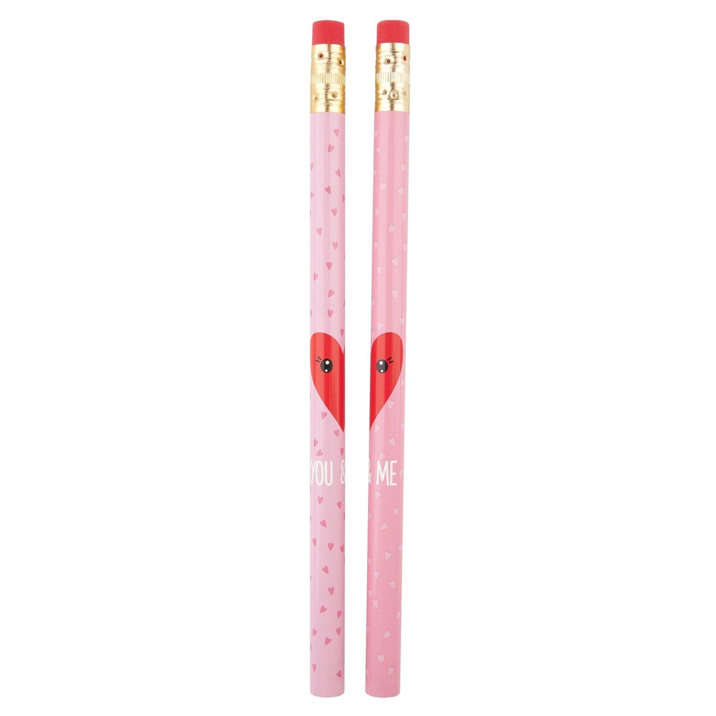 TOPModel Карандаши простые (дизайн розовый)