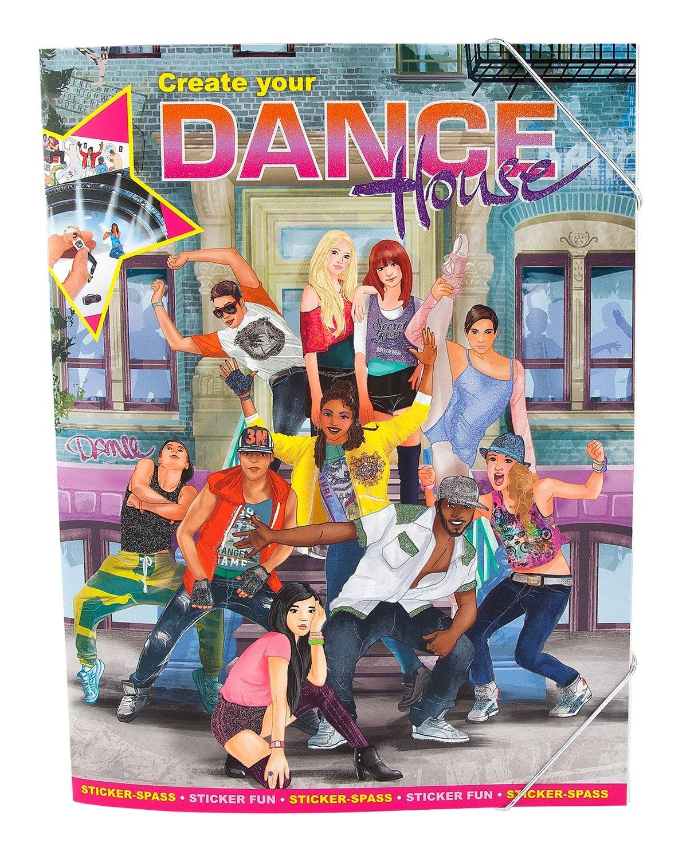 Альбом с наклейками Создай Школу танцев