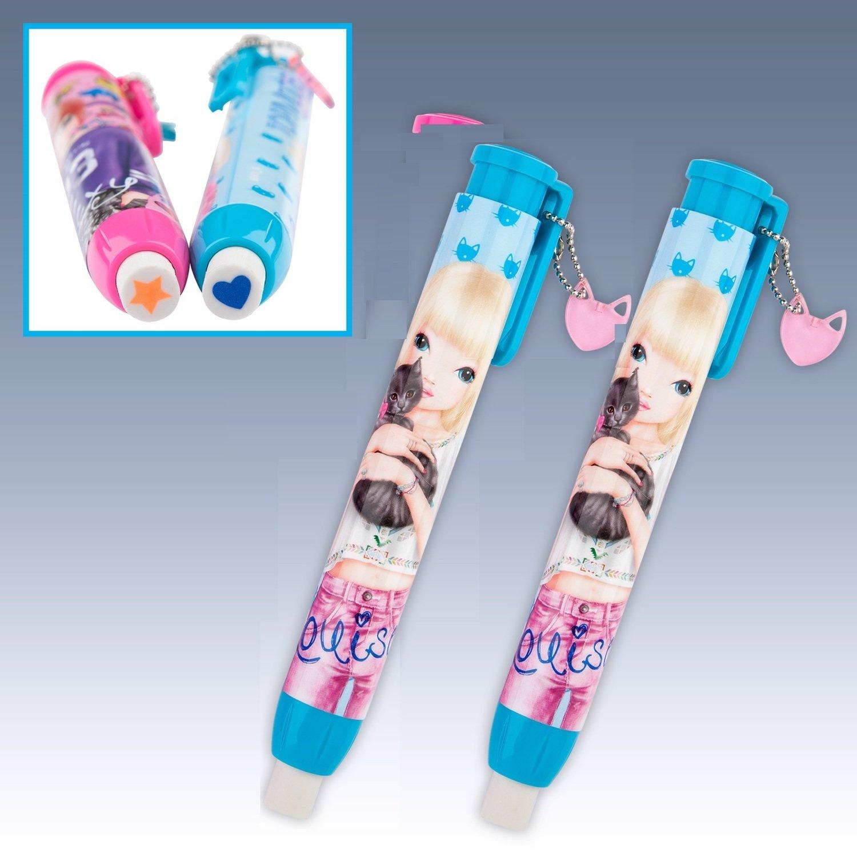 TOPModel Ластик в форме ручки (голубой дизайн)