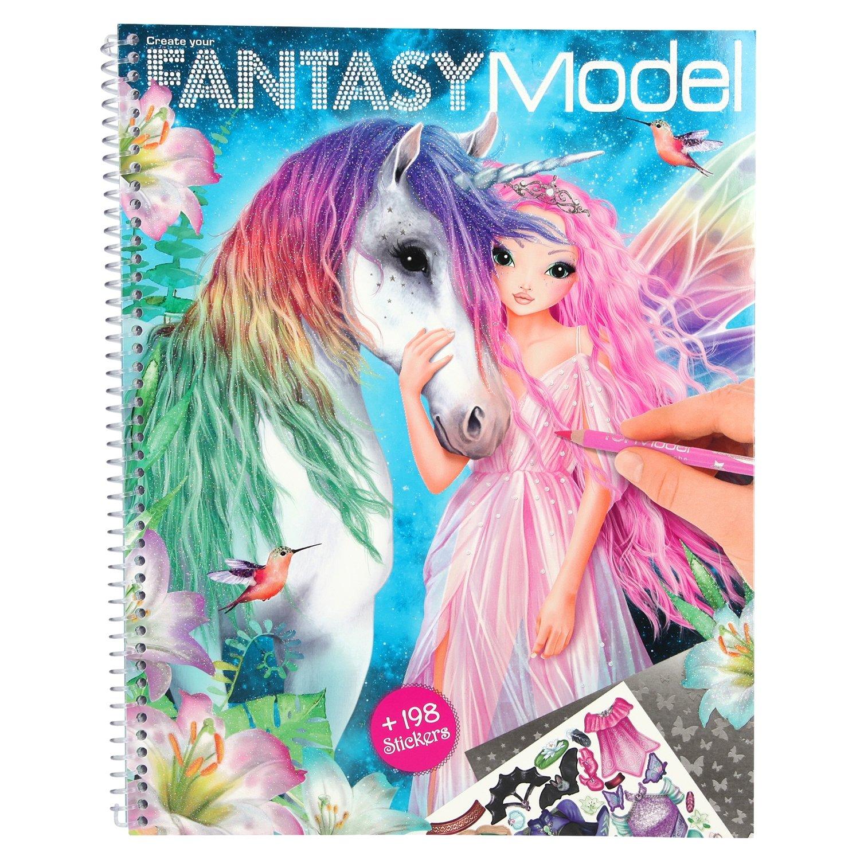 TOPModel Fantasy Альбом для раскрашивания Модель Фэнтази