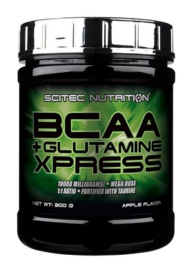 BCAA+Glutamine Xpress Scitec Nutrition 300гр.