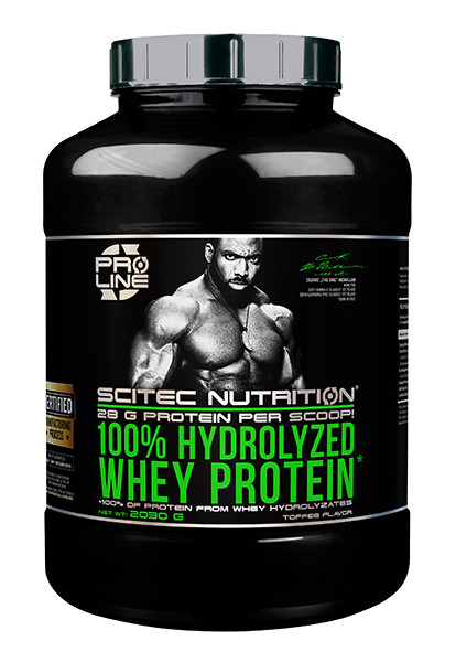 Hydrolyzed Whey Protein Scitec Nutrition 2030 г