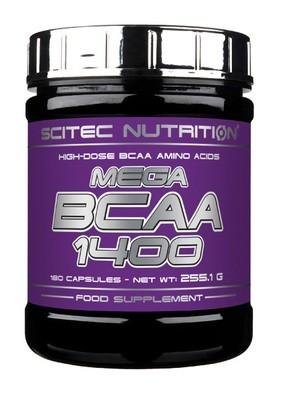 Mega BCAA 1400 Scitec Nutrition 180 капс