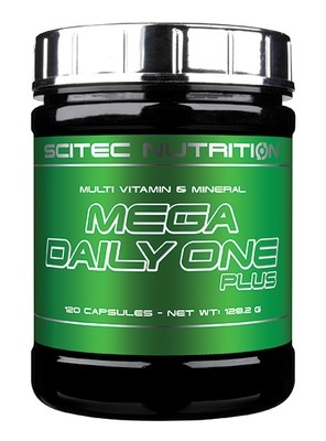 Mega Daily One Plus Scitec Nutrition 120 капс