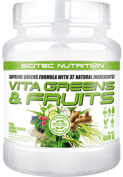 Vita Greens & Fruit Stevia Scitec Nutrition 600 гр.