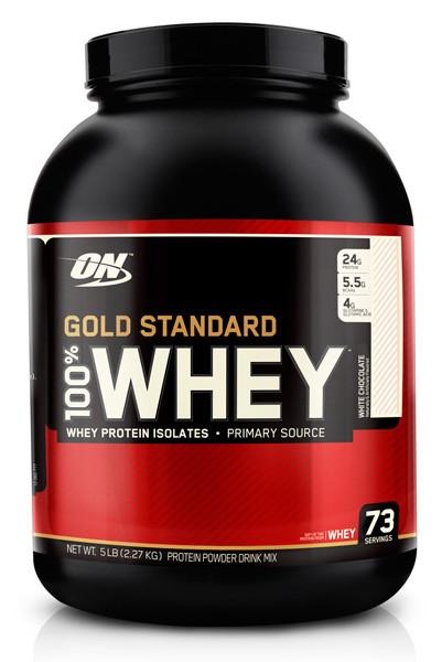 100% Whey Gold Standard Optimum Nutrition   2270гр.