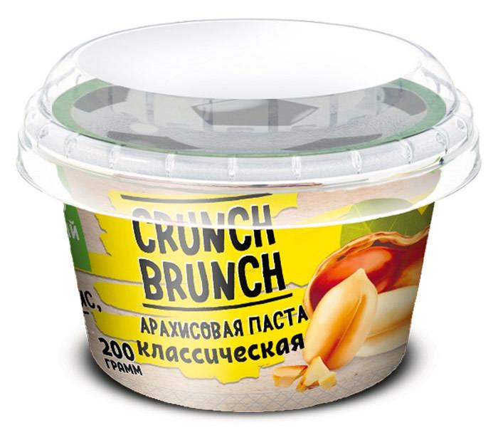 Crunch Brunch Арахисовая паста классическая 200 г