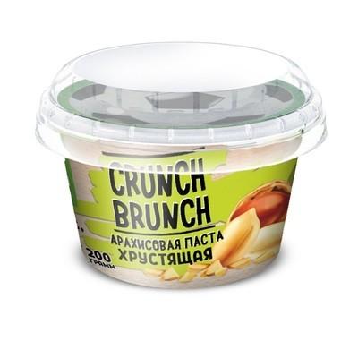 Crunch Brunch Арахисовая паста хрустящая 200 г