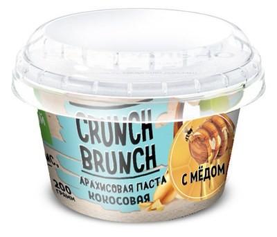 Crunch Brunch Арахисовая паста Кокосовая с мёдом 200 г