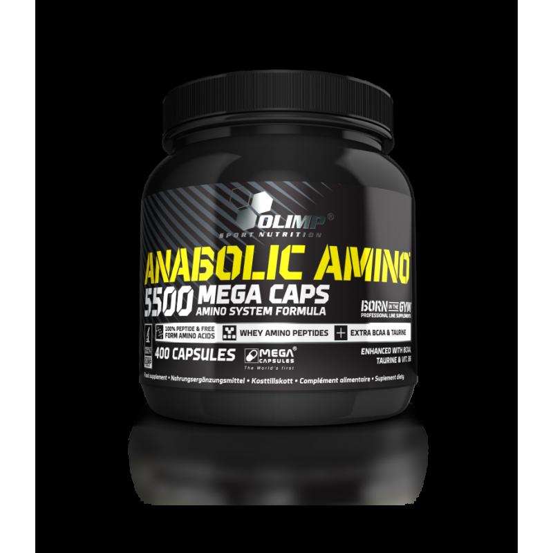Anabolic Amino 5500 Olimp 400 капс