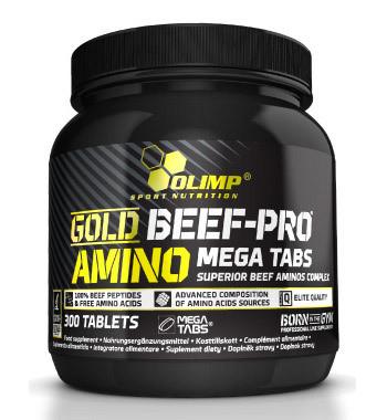 Gold Beef Pro Amino Mega Tabs Olimp 300 таб