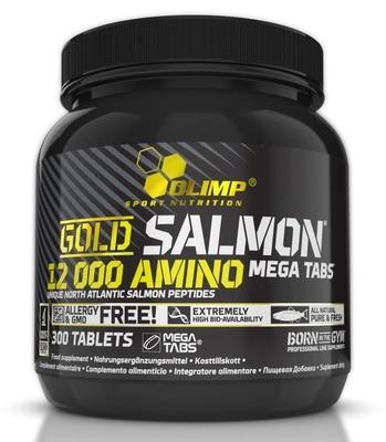 Gold Salmon 12000 Amino Mega Tabs Olimp 300 таб
