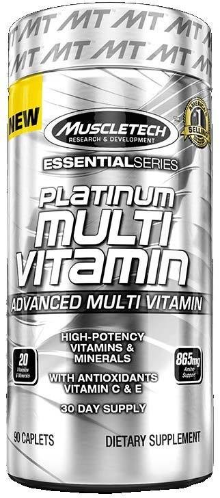 Platinum Multi Vitamin MuscleTech 90 капс.