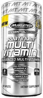 Platinum Multi Vitamin MuscleTech 90 капс.