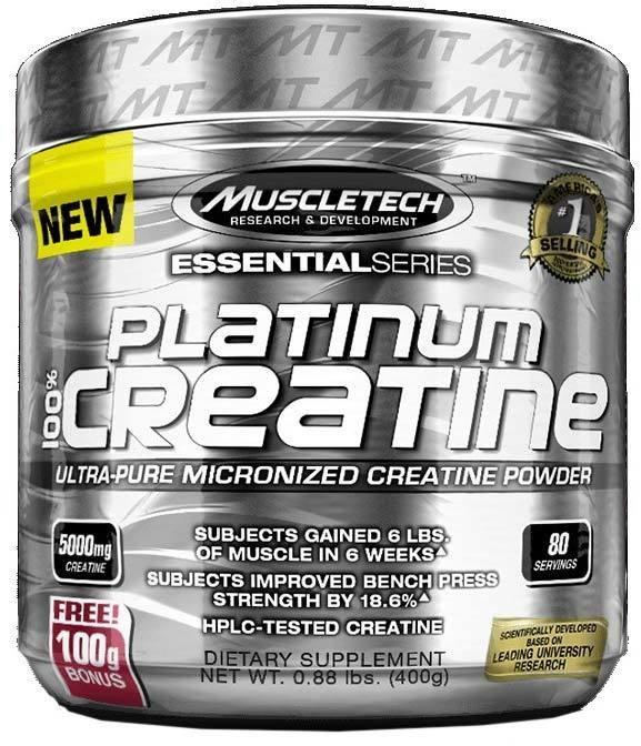 Platinum 100% Creatine MuscleTech  400 г
