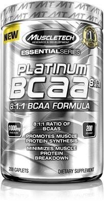 Platinum 100% BCAA 8:1:1 MuscleTech  200 капс