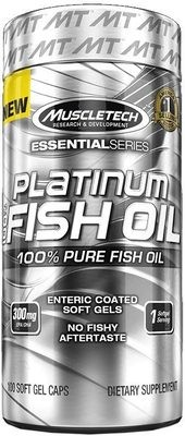 Platinum 100% Fish Oil MuscleTech 100 капс
