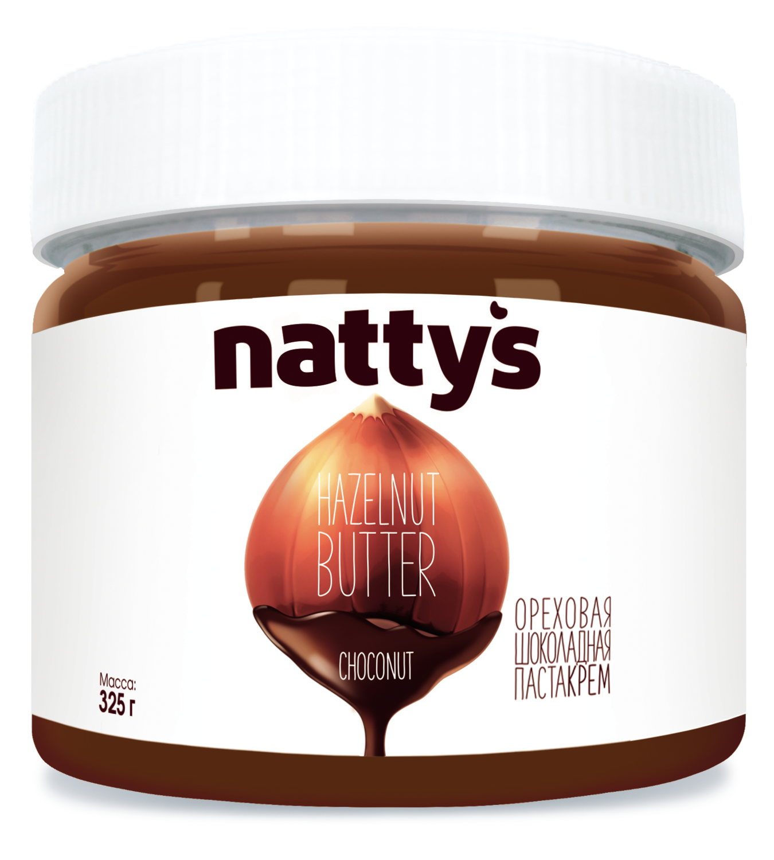 Шоколадная паста-крем Nattys 325 г