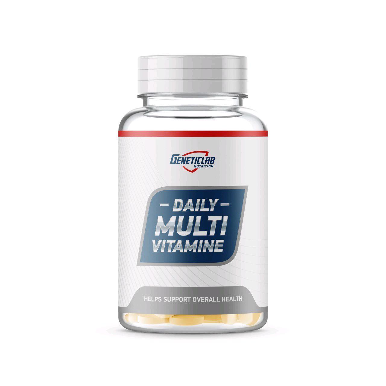 Daily Multivitamin Geneticlab 60 таб