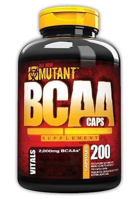 BCAA Mutant 200 капс