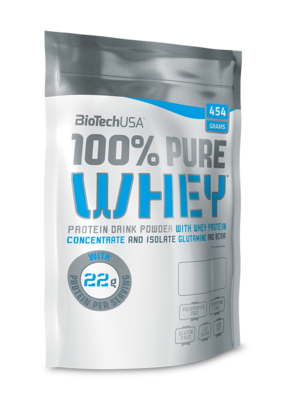 100% Pure Whey BioTech USA 454 g
