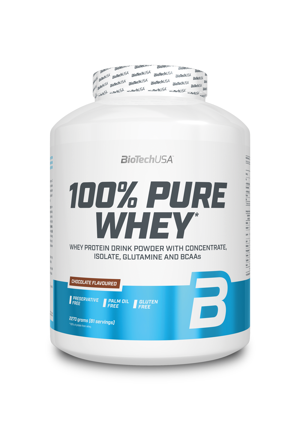 100% Pure Whey BioTech USA 2270 g