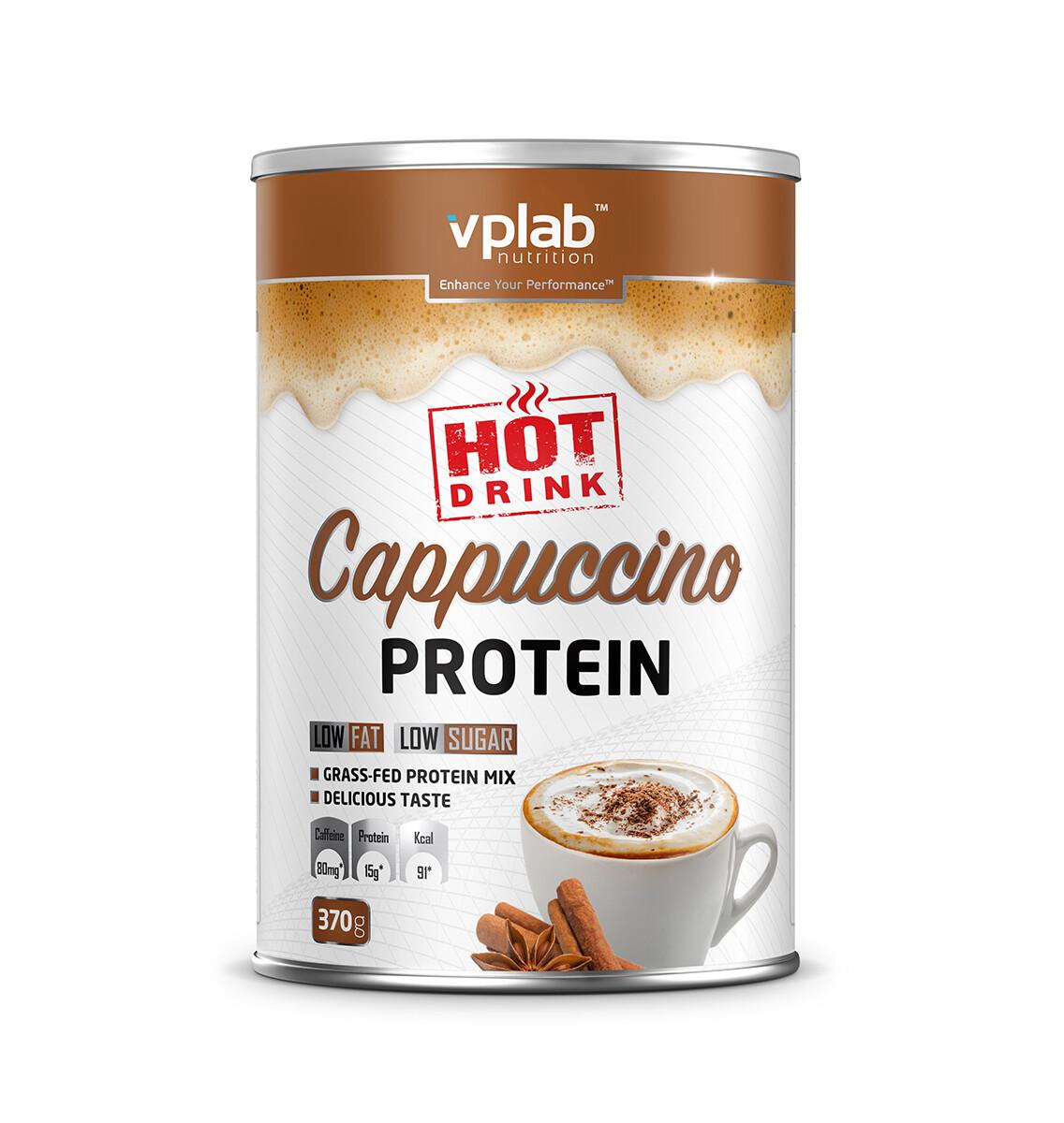 Hot Cappuccino Protein VPLab 370 г